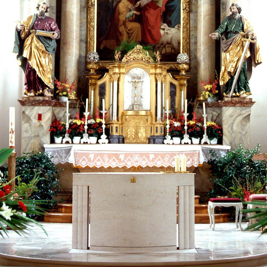 Kirche St. Peter 1993