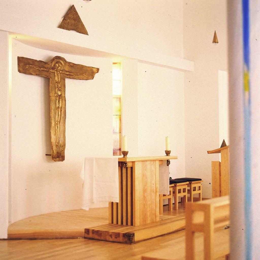 Altenheim Hauskapelle 1990