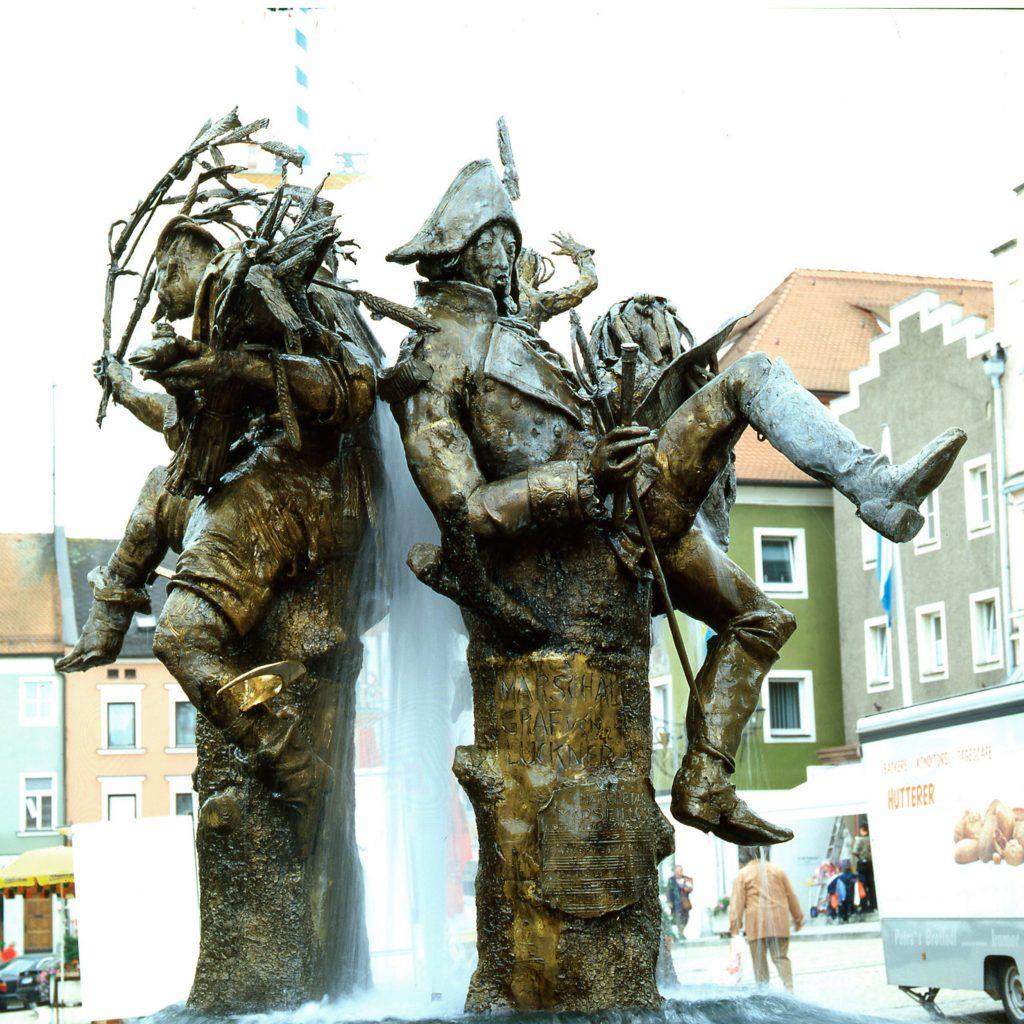 Sagenbrunnen 1995