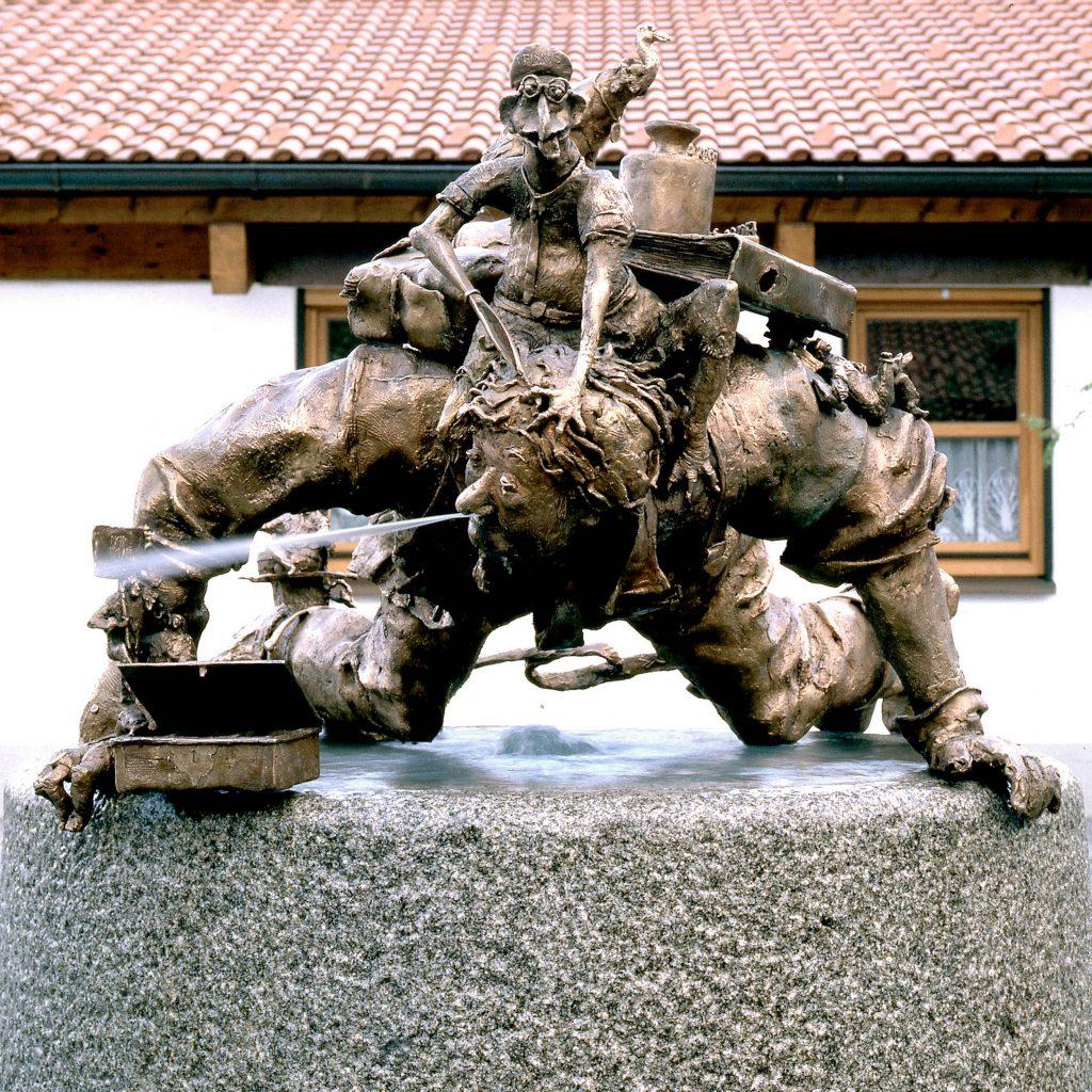 Unternehmerbrunnen 1987