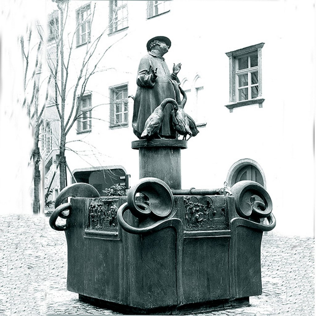 Gänseprediktbrunnen 1980