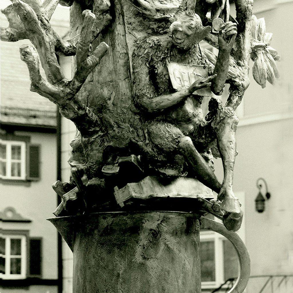 Franziskusbrunnen 1995