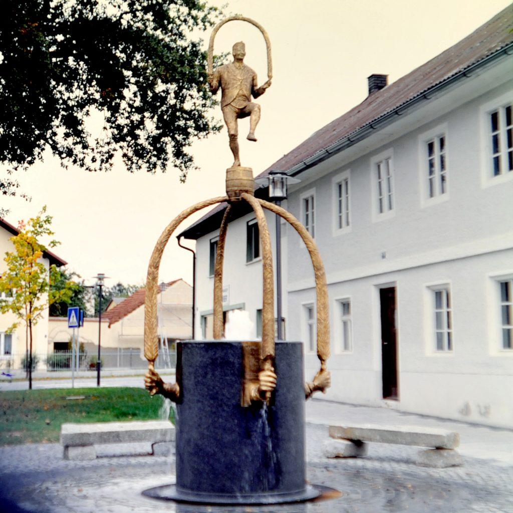 Schäfflerbrunnen 1998