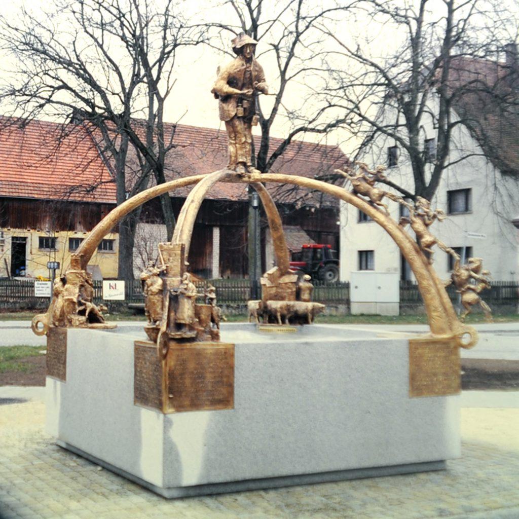 Sagenbrunnen 1998