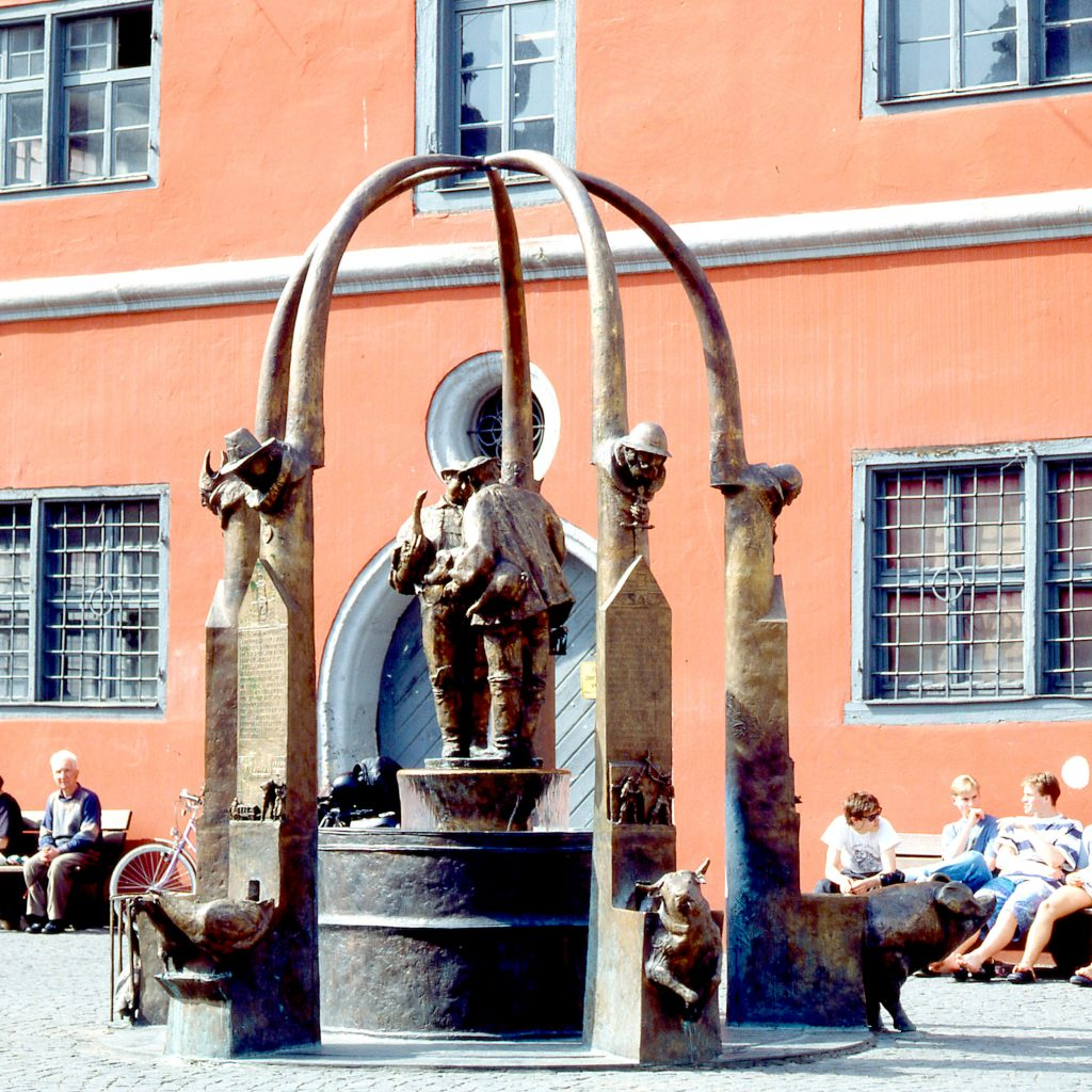 Schrannenbrunnen 1991