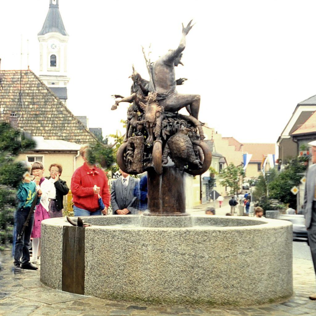 Oberpfälzer Sagenbrunnen 1986