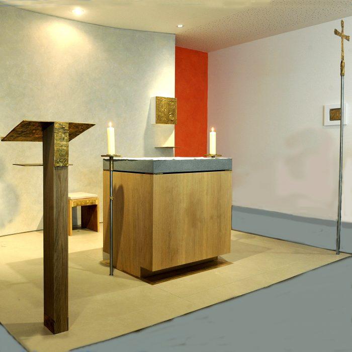 Kapelle des Malteserstifts St. Nikolaus 2014