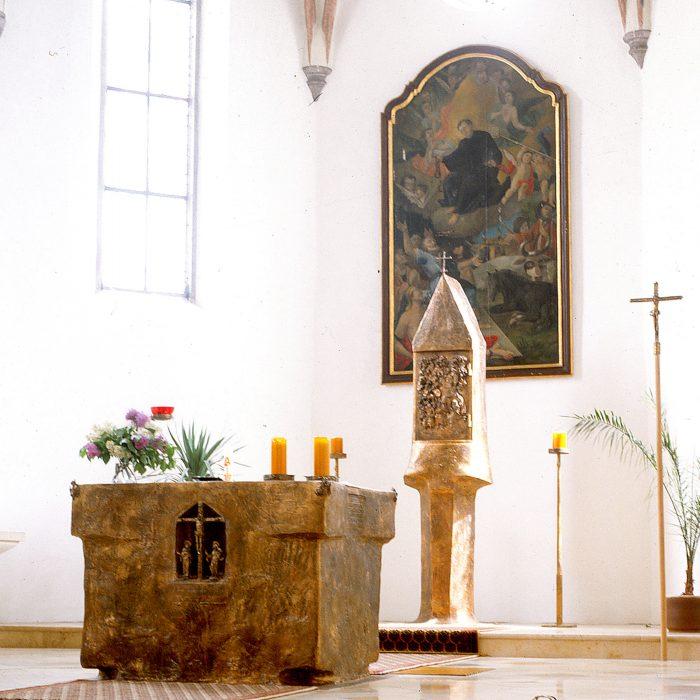 Kirche St. Leonhard 1982
