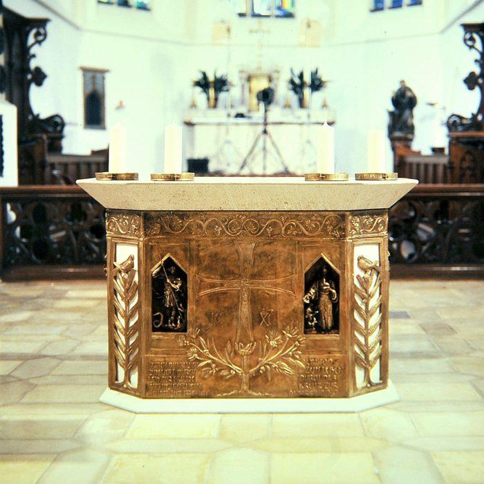 Kirche St. Aegidius 1990