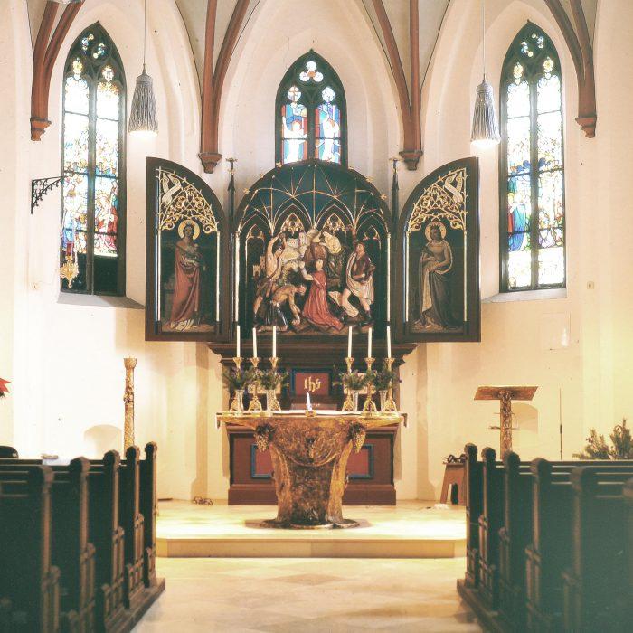 Kirche St. Stefan 1992