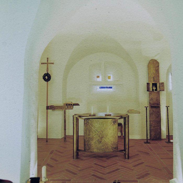 Hauskapelle der Abtei 1996