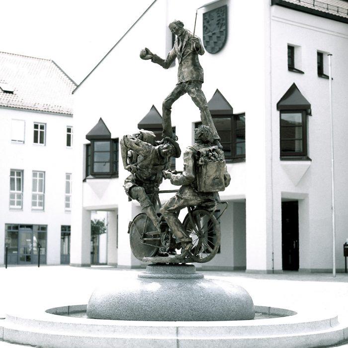 Stadtradlbrunnen 1988