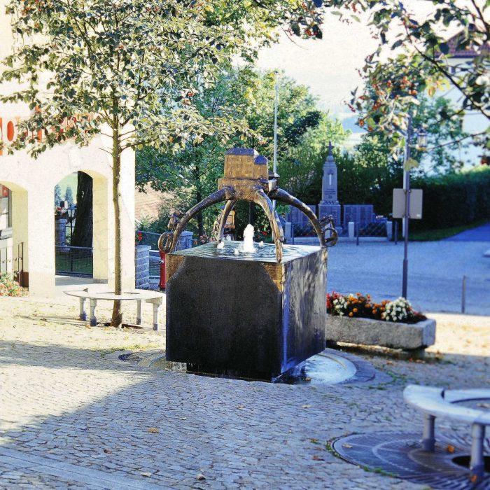 Ortsgeschichtliche Allegorie 1996