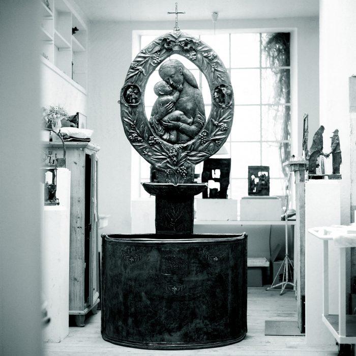 Marienbrunnen 1990